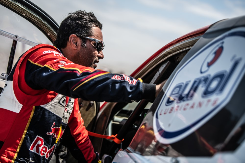 Eurol In Dakar Al Attiyah Leads After Another Strong