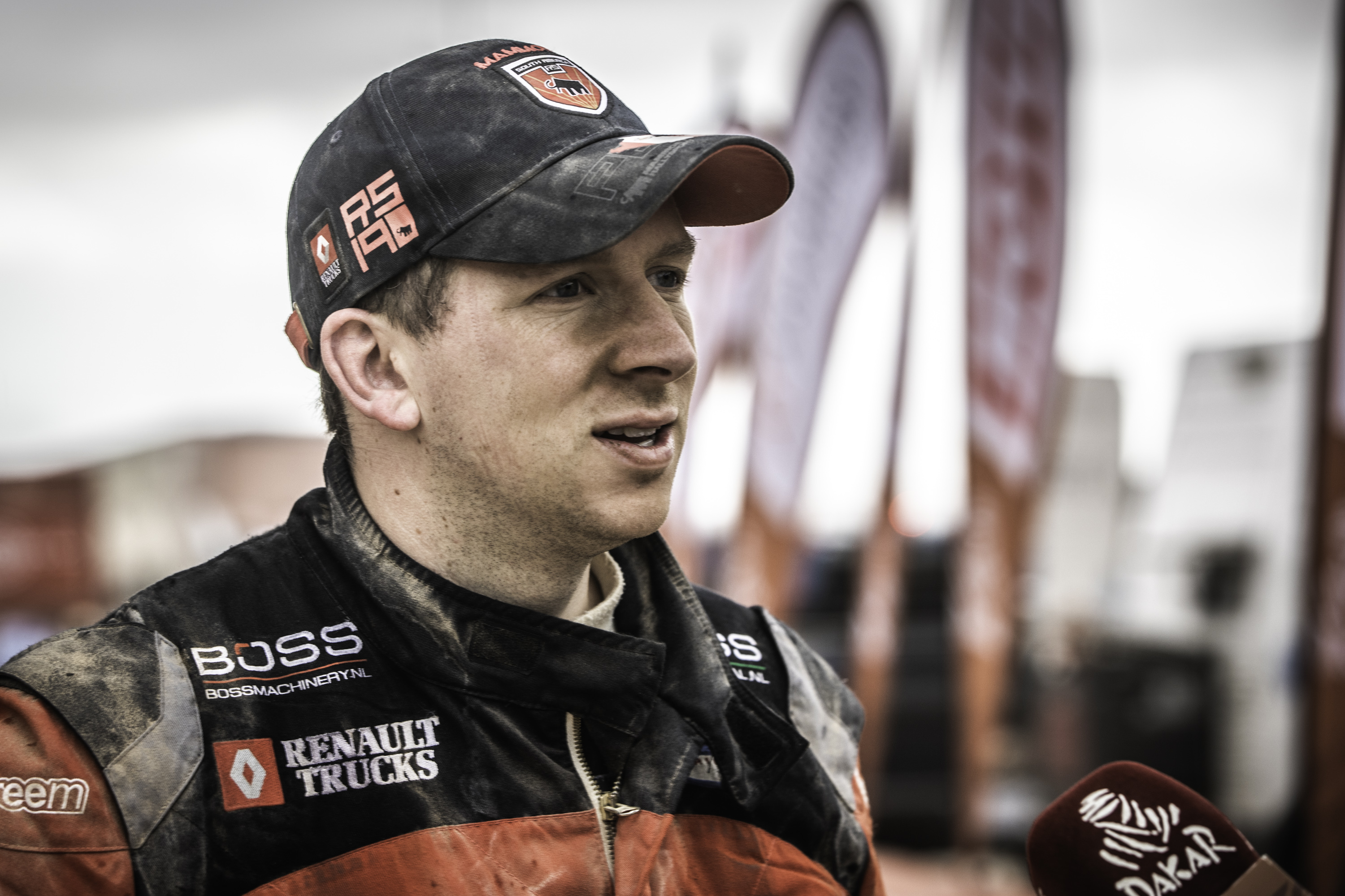Eurol In Dakar Van Kasteren Back In Top Five During Extreme