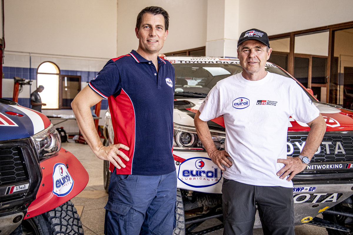 Eurol Renews Partnership With Toyota Gazoo Racing Sa For Dakar 2020 Eurol B V