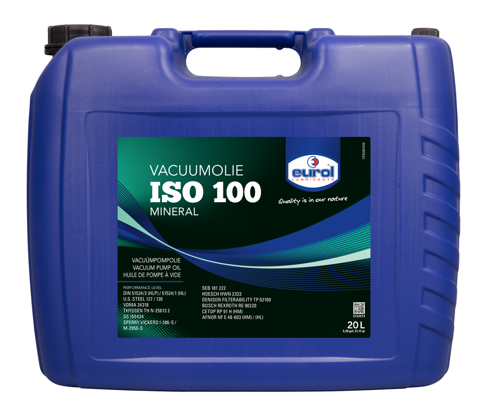 Eurol Vacuumolie ISO-VG 100 | Eurol B V